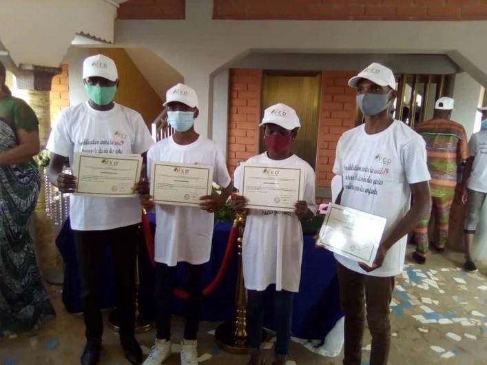 Les lauréats du concours