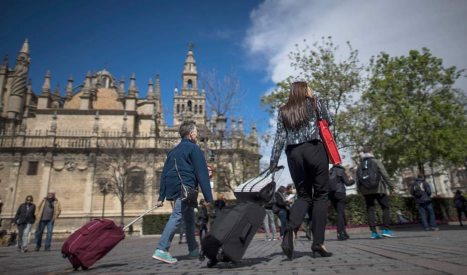 Los turistas que visitaron Andalucía aumentaron un 4,6% en tercer trimestre