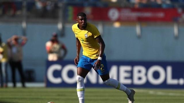 Emerson destaca con la seleccion olimpica de Brasil