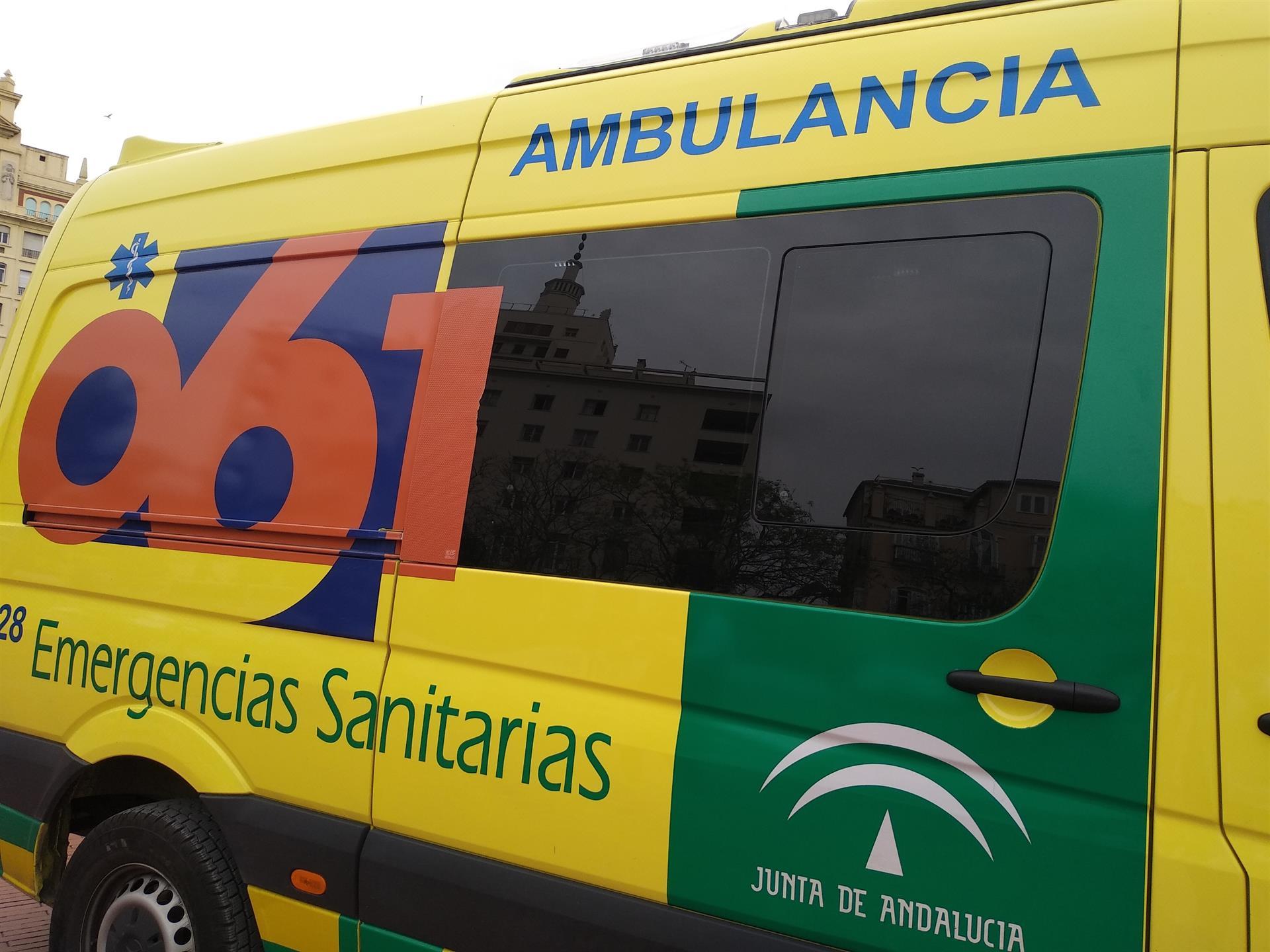 Cinco heridos, entre ellos tres menores, en un accidente