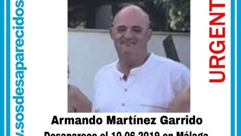 Desaparecido desde el lunes hombre de 55 años en Málaga