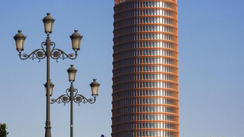 Fallece César Pelli, que diseñó Torre Sevilla