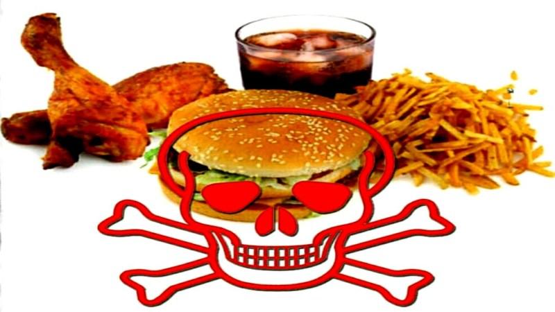Alimentos peligrosos para la salud