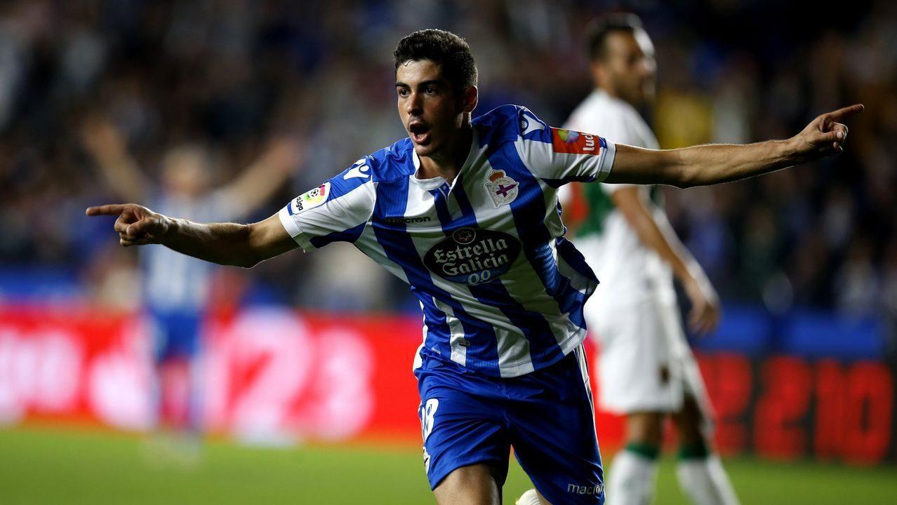 Carlos Fernández renovará antes de salir cedido