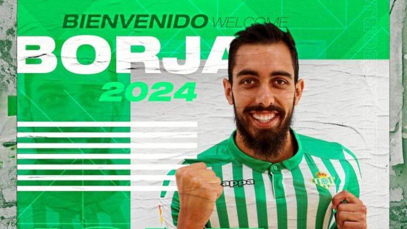 """Borja Iglesias: """"A los delanteros gusta que les pidan meter goles"""""""