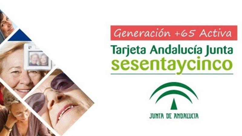 Más de 1.500 empresas colaboran con la 'Tarjeta Andalucía Junta sesentaycinco'