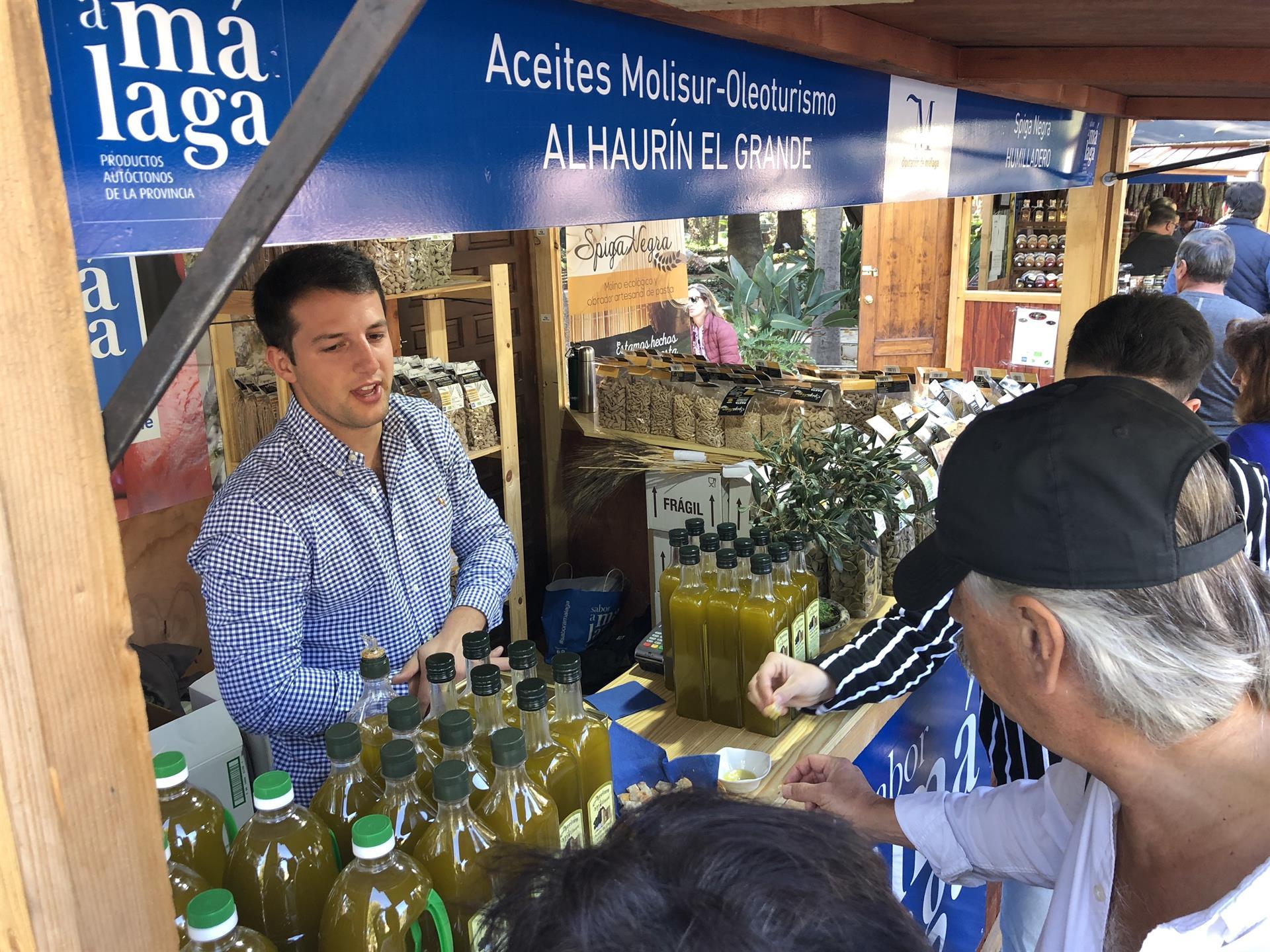 Sabor a Málaga participa en la Feria con degustaciones y catas