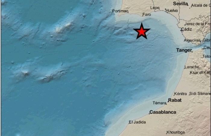 Registrados tres terremotos en el Golfo de Cádiz