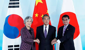 China, Japón y Corea del Sur prometen defender el multilateralismo