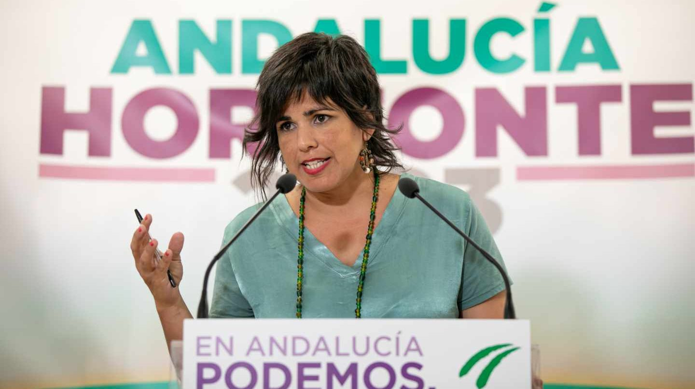 Teresa Rodríguez expulsada de su grupo político en el Parlamento de Andalucía