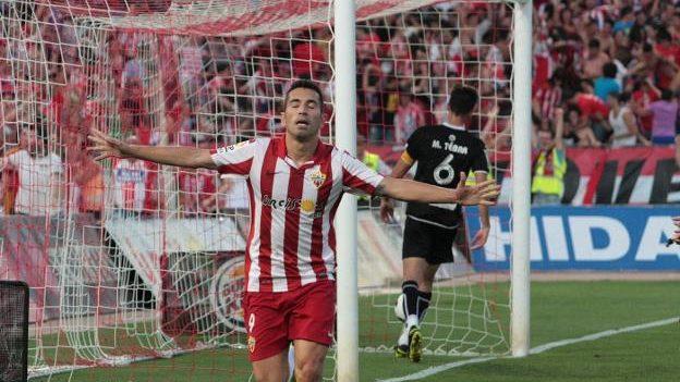 3-1. El Almería se afianza en lo alto