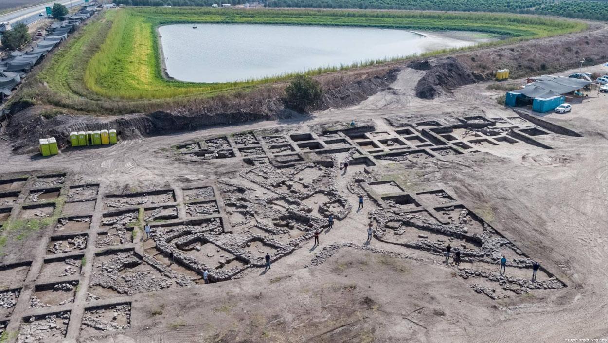 Descubren, en Israel, una gran ciudad perdida de la 'Edad del Bronce'