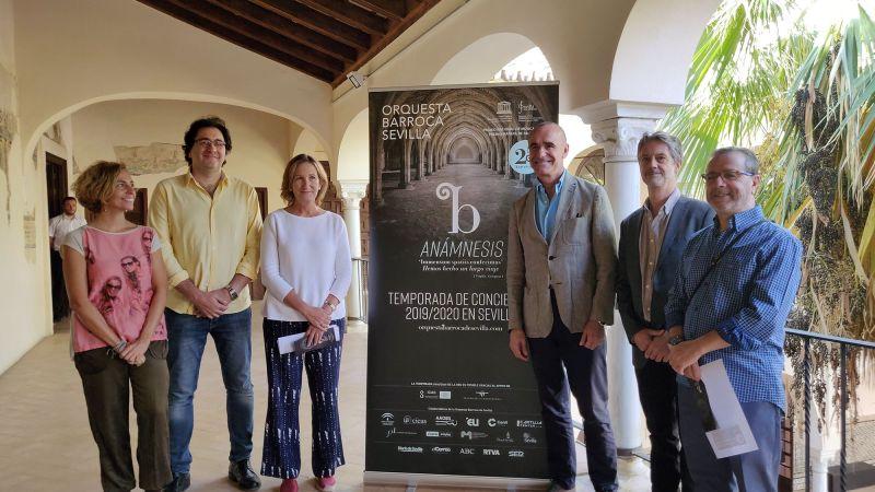 La Orquesta Barroca de Sevilla celebra su 25º aniversario
