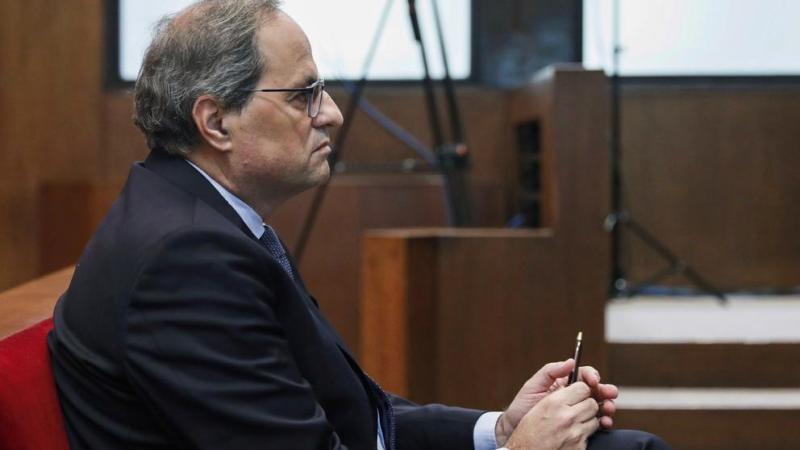 Juicio a Quim Torra: criticas al tribunal