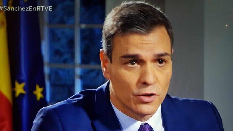 """Sánchez valora rebajar la sedición y favorecer a los presos del """"procés"""""""