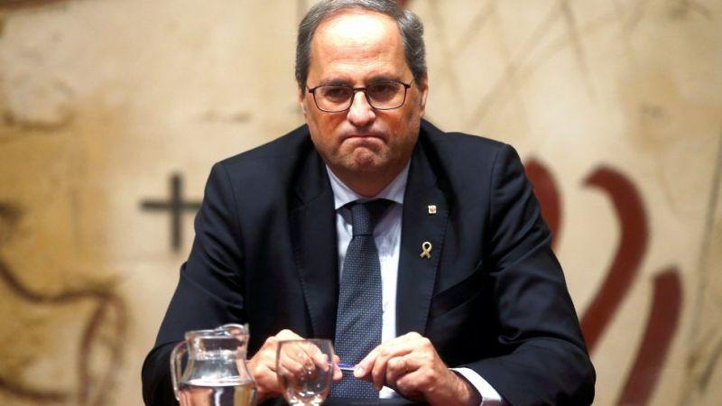 EL Supremo deniega la suspensión cautelar del acuerdo de la Junta Electoral sobre Torra