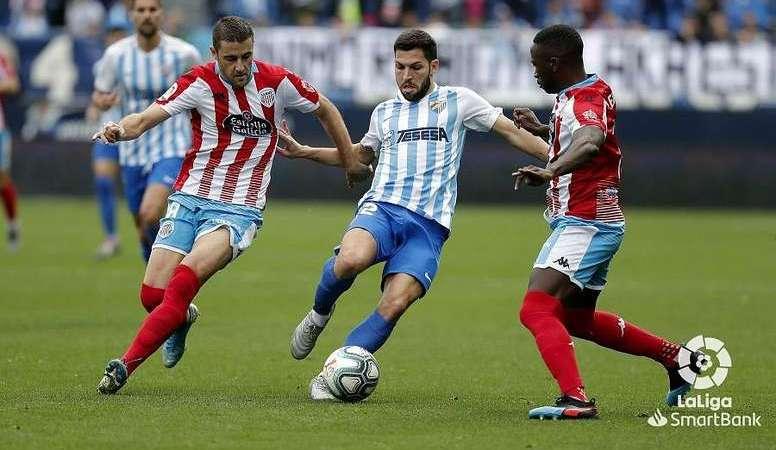 2-2. Málaga y Mirandés se abonan al empate en un partido pleno de errores