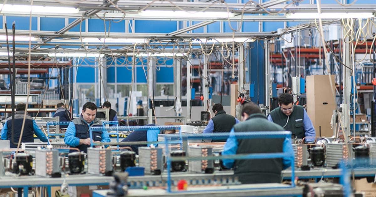 La producción industrial andaluza creció el 0,7% en 2019