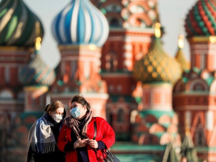 Covid-19: Se disparan en Rusia los contagios, siendo la tercera a nivel mundial