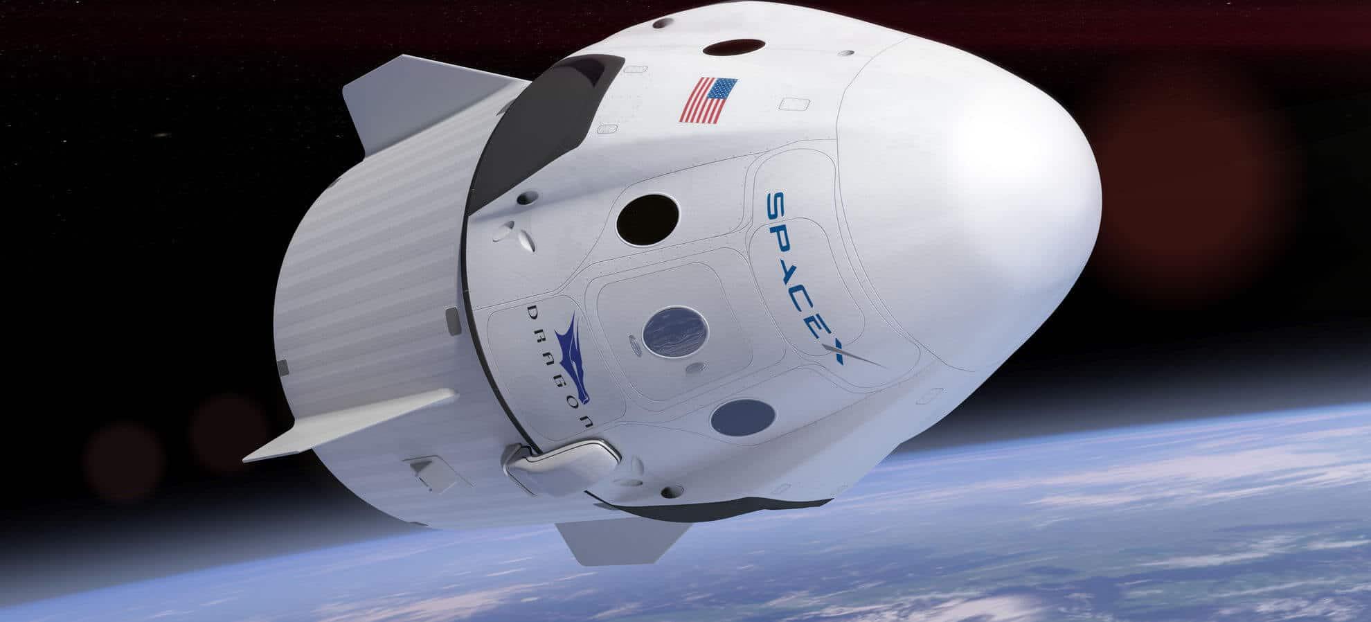 'SpaceX Crew Dragon' entrega dos astronautas de la NASA a la Estación Espacial Internacional