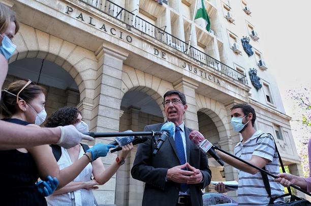 La Junta invierte 1,57 millones de euros para reactivar la Administración de Justicia