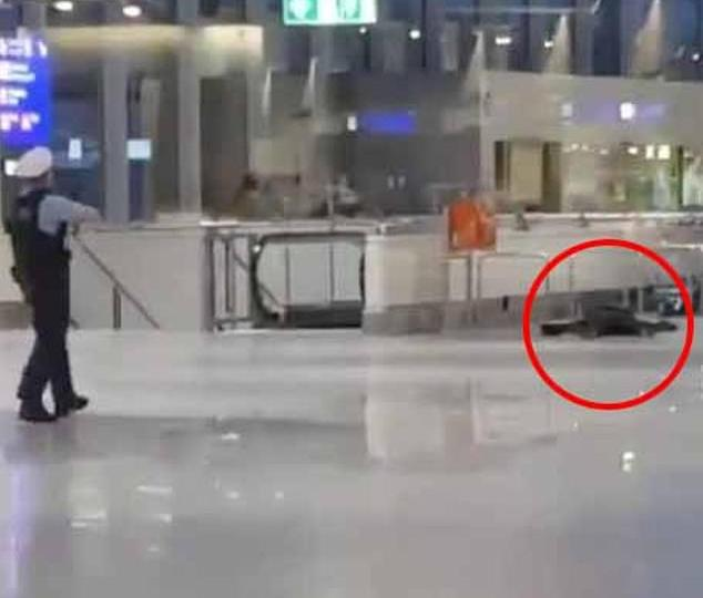 La policía 'dispara a un pistolero' en el aeropuerto de Frankfurt tras los 'informes de una amenaza de bomba'