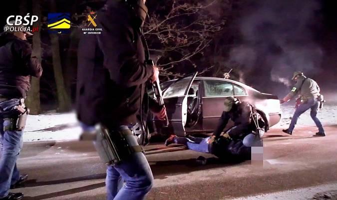 Desarticulada en Andalucía una organización mafiosa de narcotraficantes