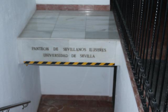 """Sucesos insólitos en la iglesia de la Anunciación y la cripta de los """"Sevillanos Ilustres"""""""
