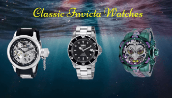 classic invicta diver watches review
