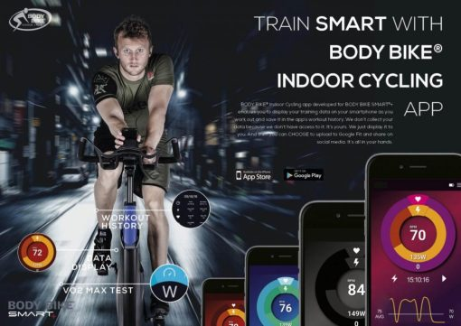 Body-Bike-Smart+-App-Spin-Bike-Elite-Fitness-Perth_Melbourne_Sydney_Brisbane_Adelaide
