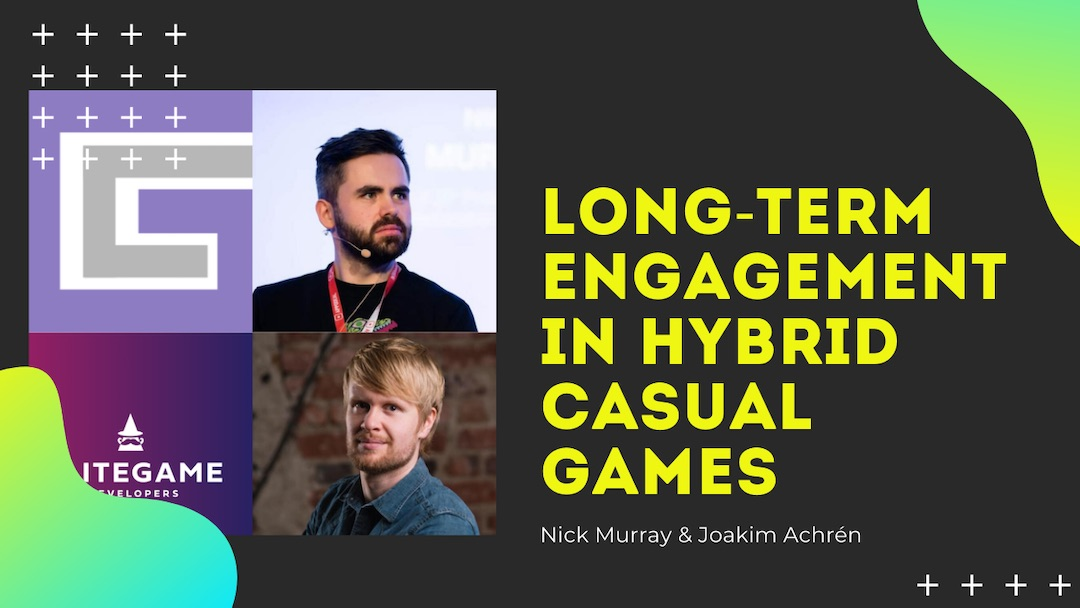 Long-Term Engagement in Hybrid Casual Games