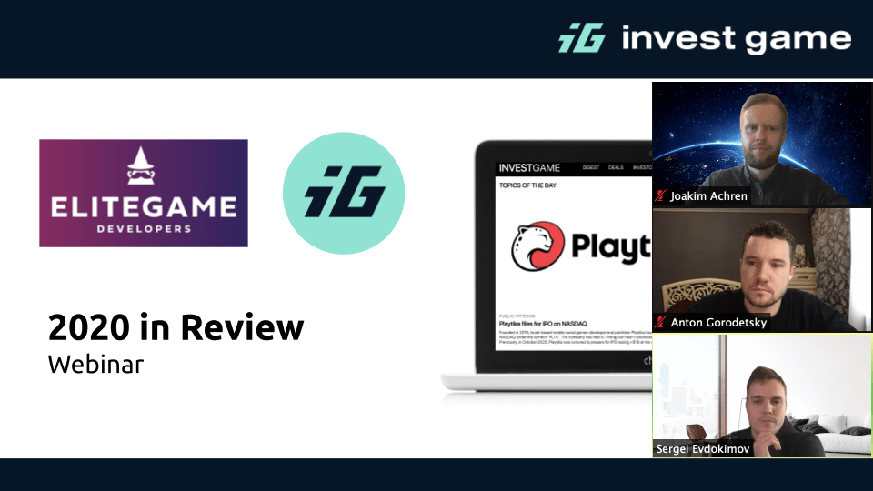 EGD Special: 2020 in Review with InvestGame