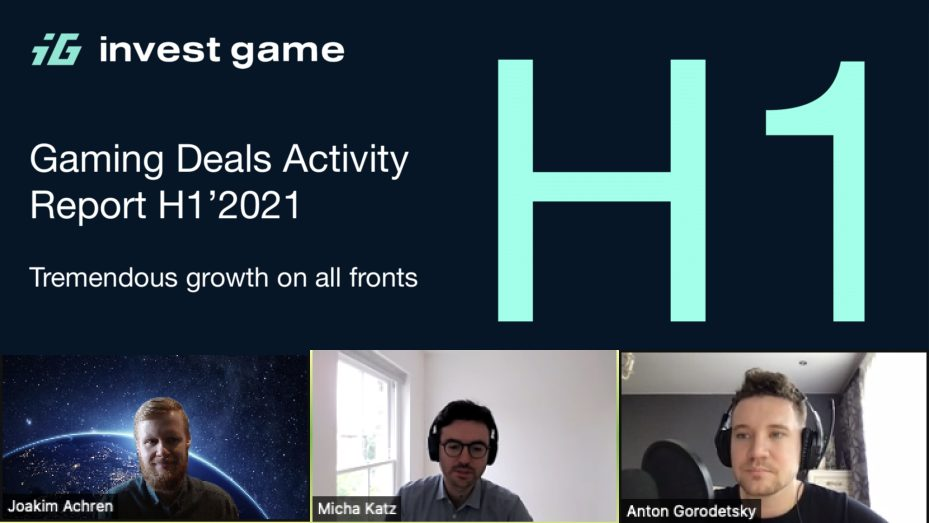 Games industry numbers for H1 of 2021