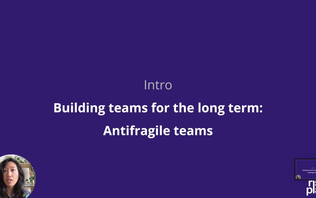 EGD News #79 — Antifragile game team