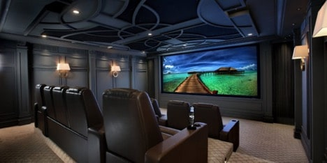 home theater lighting ideas home