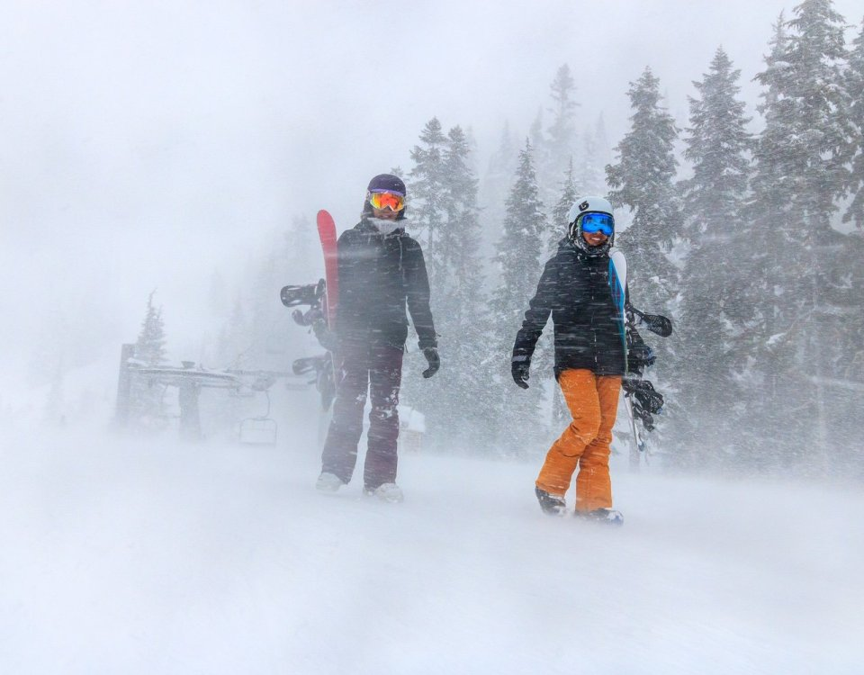 Blizzard! Whistler Blackcomb