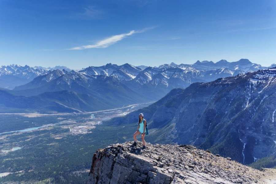 Yamnuska Summit