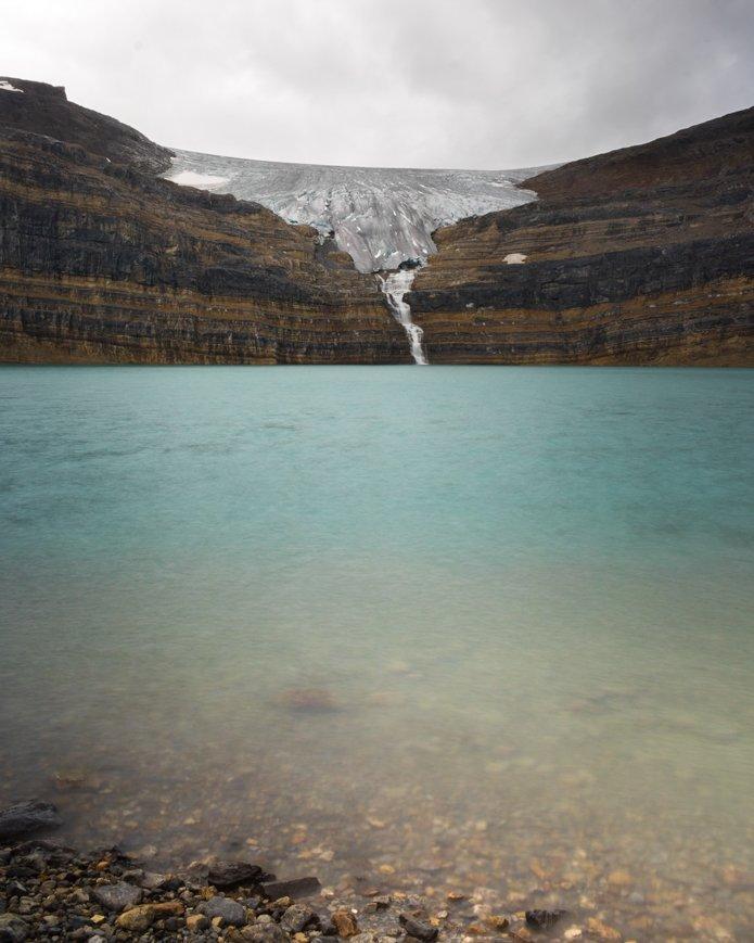 Iceberg lake icefields parkway