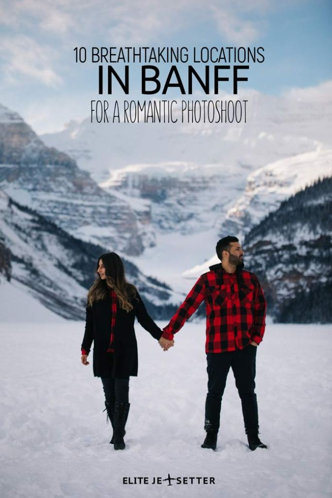 Wedding romantic photo locations Banff