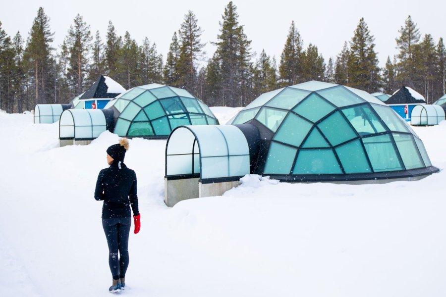 kakslauttanen arctic resort finland Northern Lights