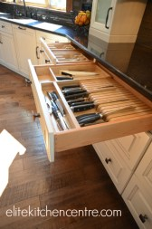 Kitchen Knife Drawers from Elite Kitchen Centre