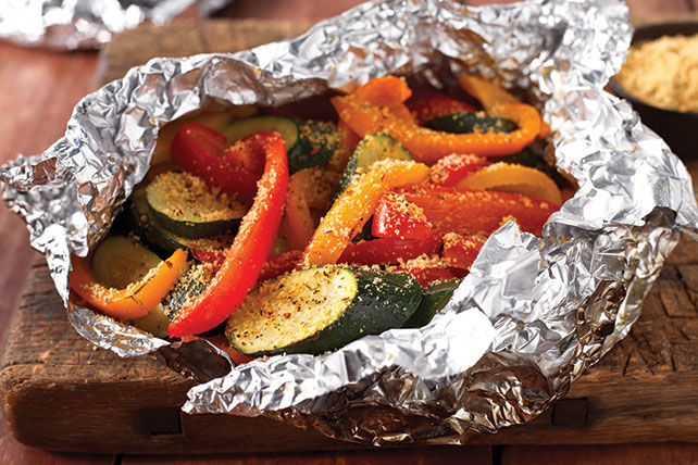 Grilled Veggie Foil Packs Recipe