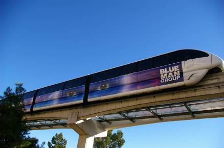 Las Vegas Monorail Train Wrap