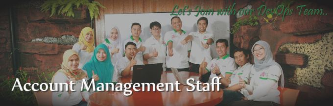 Vacancy for Account Management Staff
