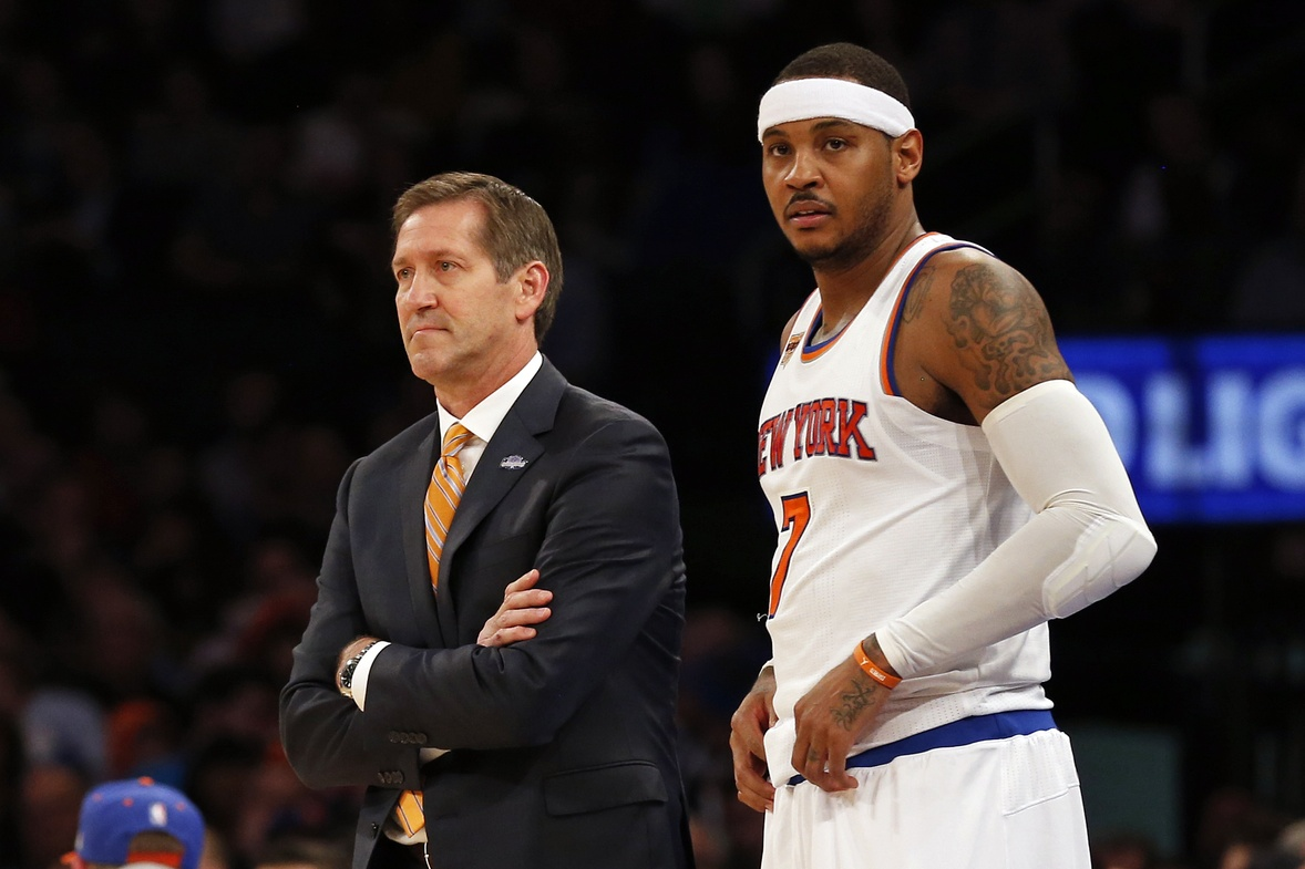 New York Knicks' Carmelo Anthony: Teammates, coach 'believed in me'