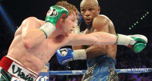 Oscar De La Hoya calls on Floyd Mayweather to promote Canelo Alvarez fight