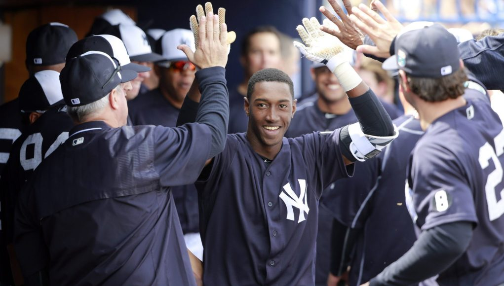 New York Yankees: Jorge Mateo getting work in at the hot corner