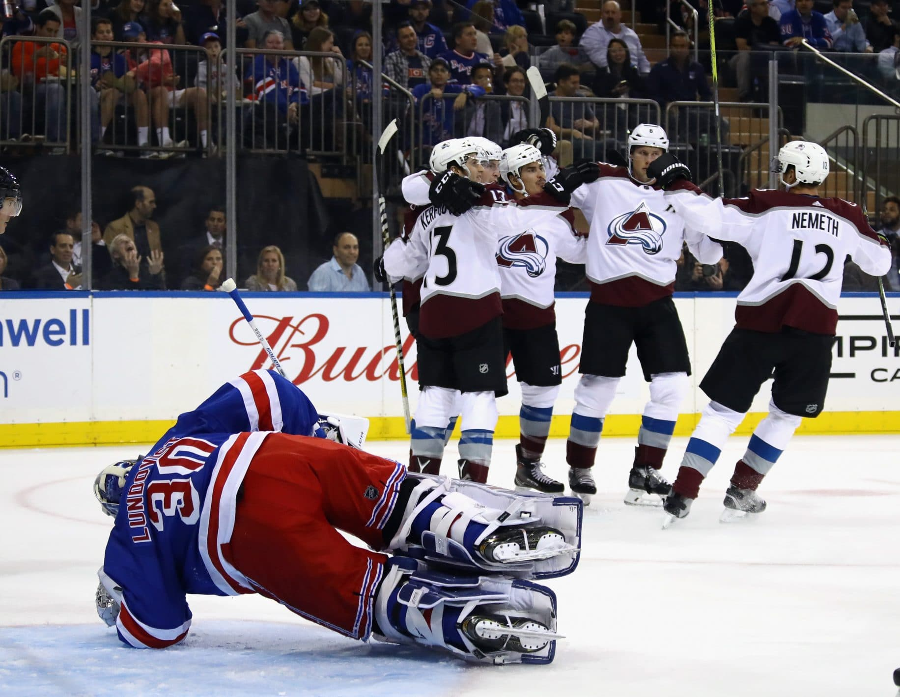 New York Rangers Disappoint in Opener Against Colorado Avalanche, Semyon Varlamov (Highlights) 1