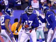 Dwayne Harris, New York Giants