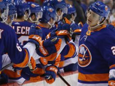 New York Islanders, Sebastian Aho, New Jersey Devils, Barclays Center, Goal For